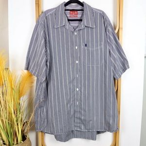 Thomas Cook shirt size XXL blue checkered western